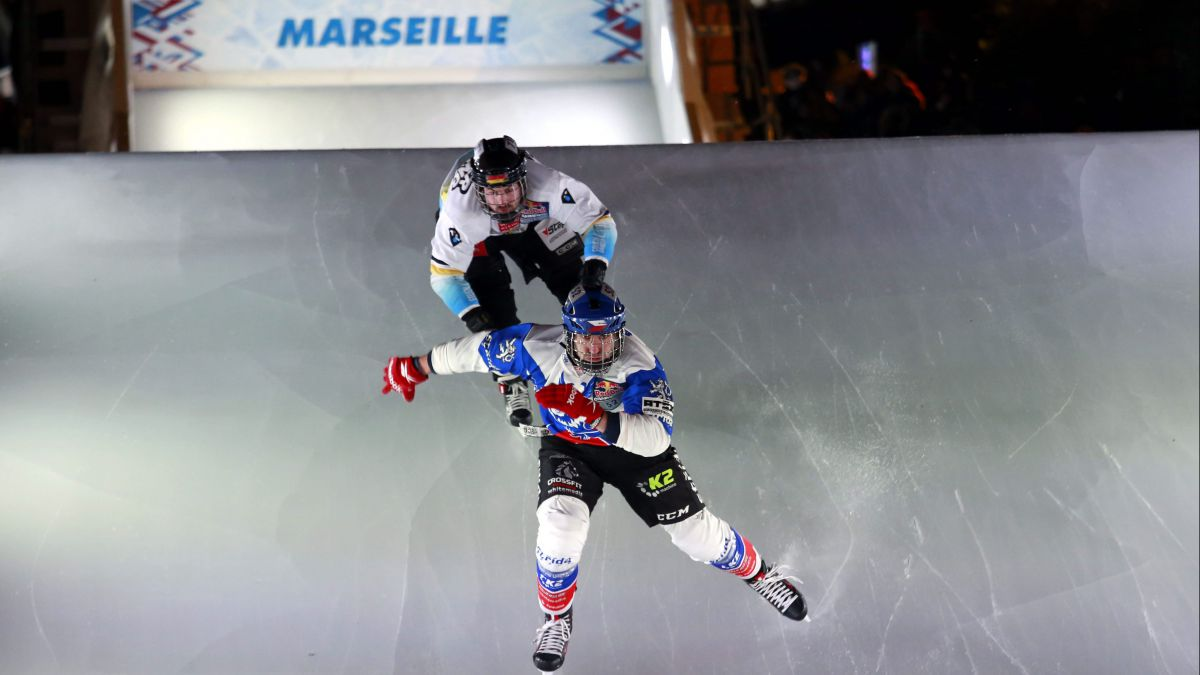 Le Red Bull Crashed Ice est de retour à Marseille, en version payante