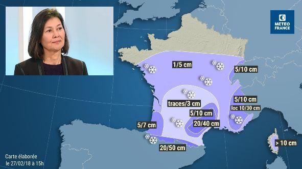 "Vigilance Orange Neige-Verglas ce mercredi : ""On attend de fortes chutes de neige"" (Météo France)"