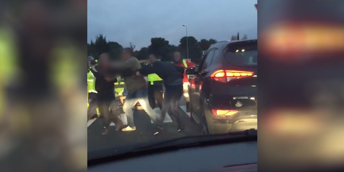 VIDEO. Gilets jaunes : violente altercation à Martigues entre une automobiliste et les manifestants