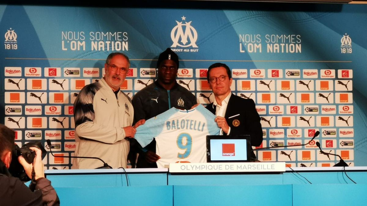 """OM : Mario Balotelli : """"Je sais que les supporters attendent beaucoup"""""""
