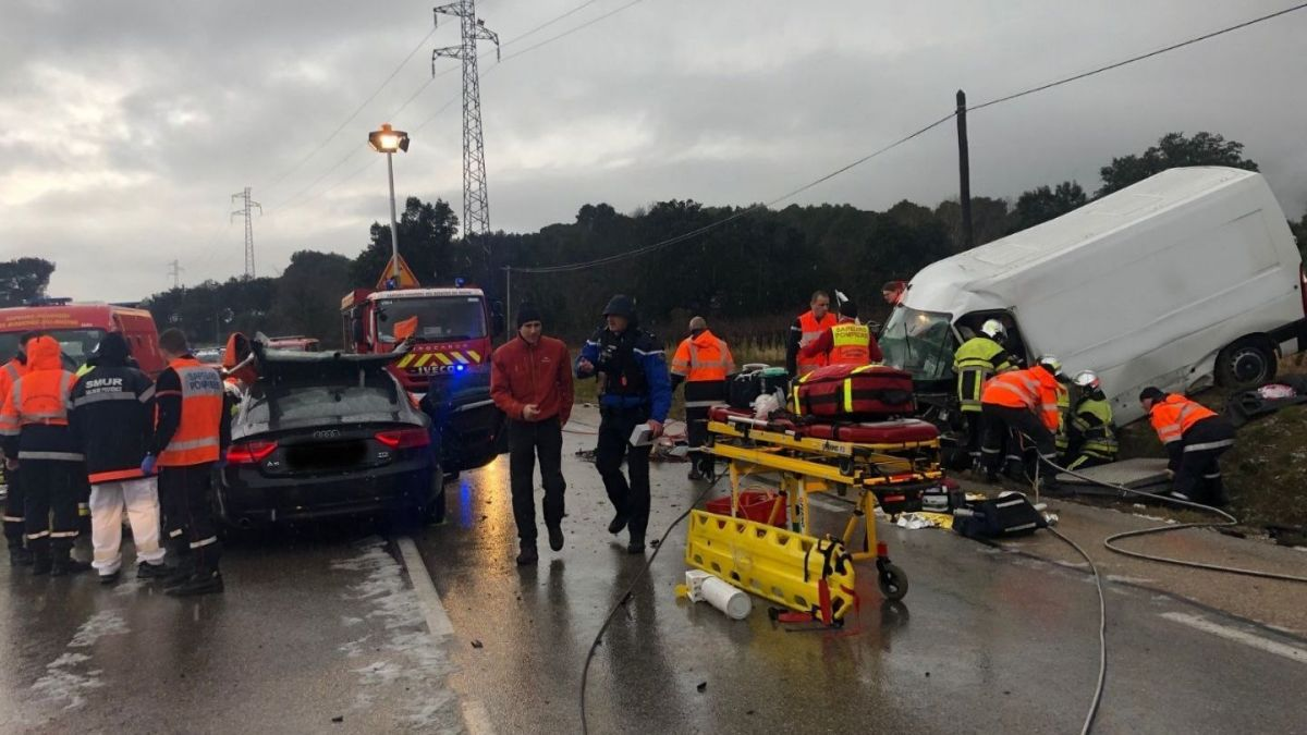Accident – A person who was killed and seriously injured on the road