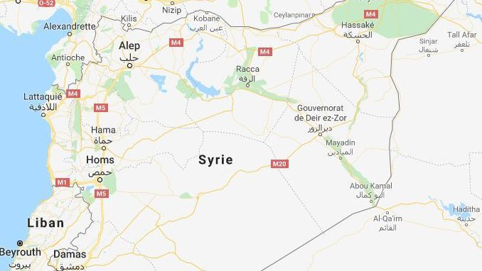 Carte de la Syrie / © Google maps