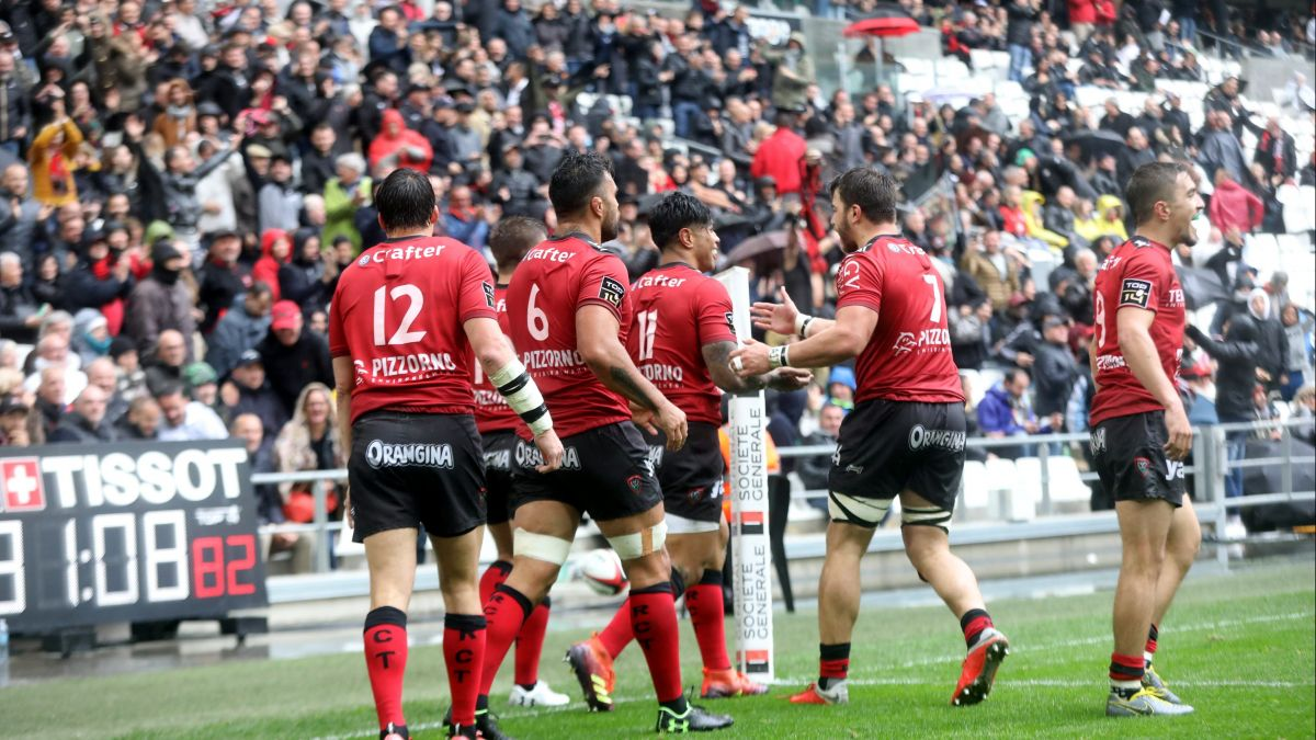 Photo d'illustration- 21ème journée du TOP 14 Match opposant le Rugby Club Toulonnais au Stade Toulousain au stade Vélodrome à Marseille . / © PHOTOPQR/LA PROVENCE/MAXPPP