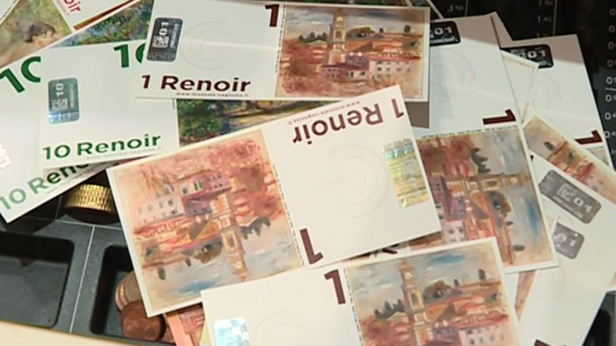 Illustration billet Renoir (la monnaie cagnoise) / © France 3