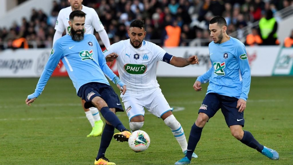 32e de finale de Coupe de France : l'OM remporte le match contre Trelissac (1-1) par les tirs au but (2-4)