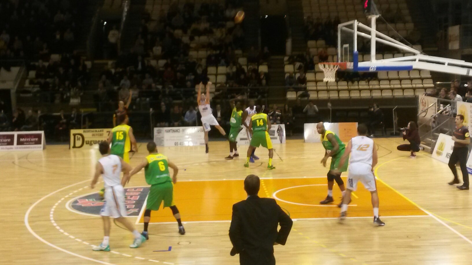 Basket : Cognac gagne d'un point face � Vichy, 75 � 74