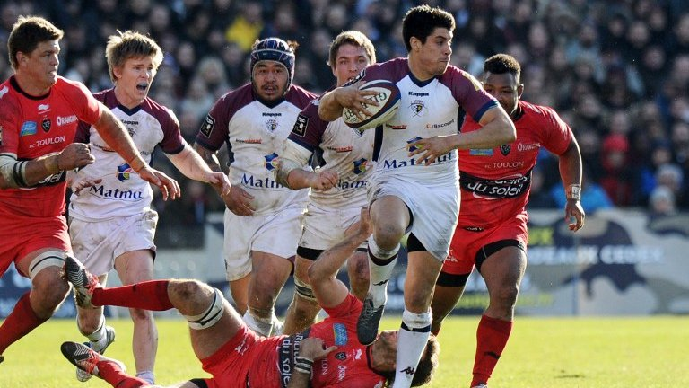 Le RC Toulon s'incline face à Bordeaux 28-23