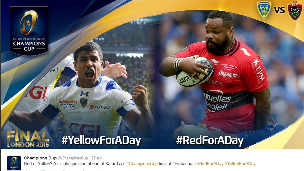 ASM / RCT : le #YellowForADay écrase le #RedForADay
