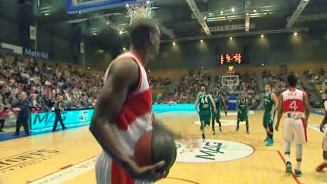 Basket-ball : le Havre s'incline face � Limoges en 1/4 de finales des play-offs