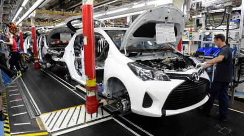 Toyota Onnaing recrute 500 intérimaires