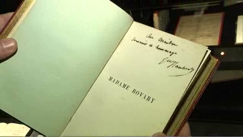 VIDEO. Madame Bovary en version originale et manuscrite