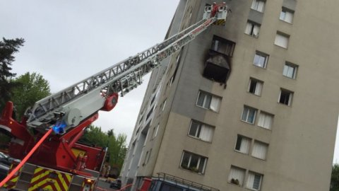 Pau : un violent incendie ravage un appartement quartier Saragosse