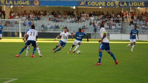 Coupe de la Ligue : le Racing sorti par Auxerre