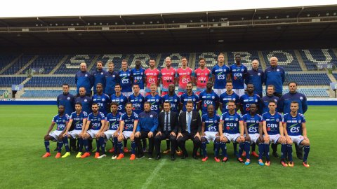 Photo de rentrée du Racing Club de Strasbourg