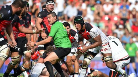 Toulouse s'incline à domicile face à Toulon