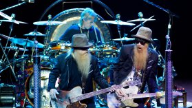 Billy Gibbons, Dusty Hill et Frank Beard. / © MaxPPP