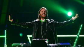 David Guetta à Las Vegas une ville qui lui va bien à la cash machine made in France / © ETHAN MILLER / GETTY IMAGES NORTH AMERICA / AFP