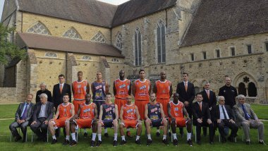 La photo officielle de la saison 2013-2014 du MSB / © DENIS LAMBERT / MAXPPP