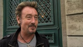 Johnny Rock, sosie de Johnny Hallyday, au tribunal correctionnel de Cherbourg, le 8 octobre 2013 / © France 3 Basse-Normandie