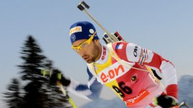 Martin Fourcade devra vite faire oublier sa contre performance - mars 2013 / © AFP PHOTO/KIRILL KUDRYAVTSEV
