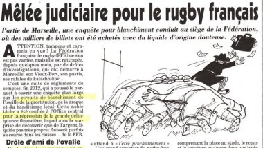 © capture journal canard enchaîné