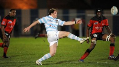 Benjamin Noirot durant un match du Top 14 entre Toulon et Racing Metro en 2009 / © AFP PHOTO BERTRAND LANGLOIS
