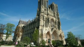 Cathédrale de Reims (Marne). / © LG - France 3 Champagne-Ardenne