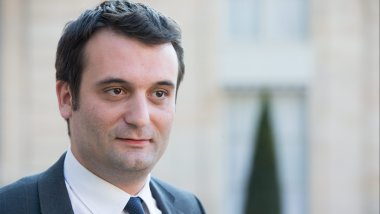 Florian PHILIPPOT, tête de liste FN de la circonscription Est / © WOSTOK PRESS/MAXPPP