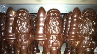 Paul McCarthy, Chocolate Santa with Buttplug. / © France 3 / EH