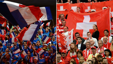 France-Suisse : dernier jour de la finale de Coupe Davis à suivre en direct streaming. / © AFp/Montage France 3