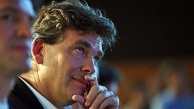 Arnaud Montebourg / © AFP PHOTO / ANNE-CHRISTINE POUJOULAT