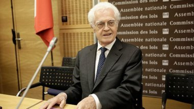 Lionel Jospin lors de son audition au Conseil Constitutionnel / © MaxPPP