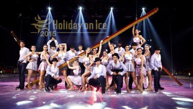La troupe Holiday on Ice 2015 / © Stage Touring