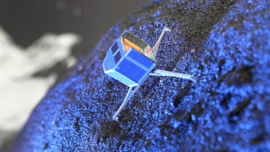 reproduction de Philae / © AFP