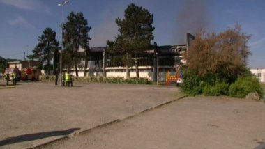 violent incendie qui rend le gymnase inutilisable / © France 3 Centre Val de Loire