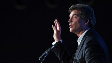 Arnaud Montebourg en 2014 / © AFP PHOTO ANNE-CHRISTINE POUJOULAT