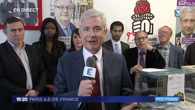 Claude Bartolone sur France 3 Paris IDF / © Capture France 3 Paris IDF
