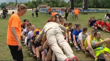 Une course à obstacle rock-and-roll / © France 3 Lorraine