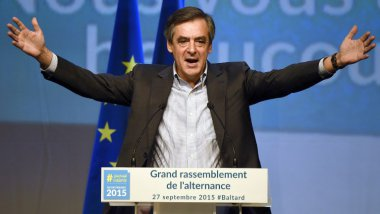 François Fillon, ici le 27 septembre 2015 / © AFP PHOTO / DOMINIQUE FAGET
