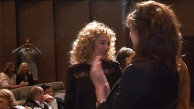 Valeria Golino inaugure la 37e édition de Cinemed à Montpellier en octobre 2015 / © France 3 LR