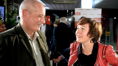 Gérard Onesta et Carole Delga (photo d'archives) / © MaxPPP