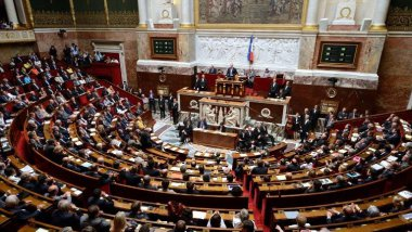L'Assemblée nationale / © AFP PHOTO ERIC FEFERBERG