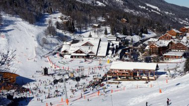 Photo d'illustration - La station de Meribel en Savoie / © Jean-Pierre Clatot / AFP