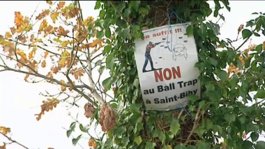 Saint-Bihy (22) : vote nul au premier tour des régionales contre un ball-trap / © France 3 Bretagne