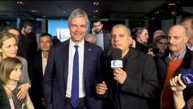 Laurent Wauquiez sur France 3 / © France 3