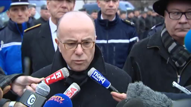 Bernard Cazeneuve à Grenoble / © France 3 Alpes
