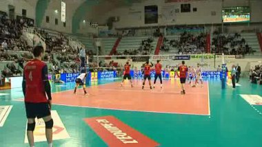 Le GFCA Volley (Archives) / © France 3 Corse ViaStella