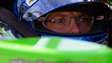 Le manceaux Sébastien Bourdais au Texas Motor Speedway de Fort Worth (Texas), le 5 juin 2015. / © ROBERT LABERGE / GETTY IMAGES NORTH AMERICA / AFP