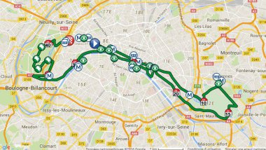 © Schneider Electric Marathon de Paris 2016