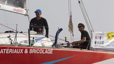 Gedimat - Thierry Chabagny & Erwan Tabarly  / © A. Courcoux